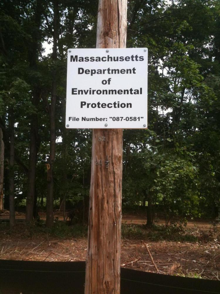 Massachusetts Department of Environmental Protection File Number 087-0581