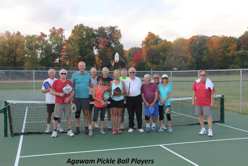 Agawam Pickle Ball Players