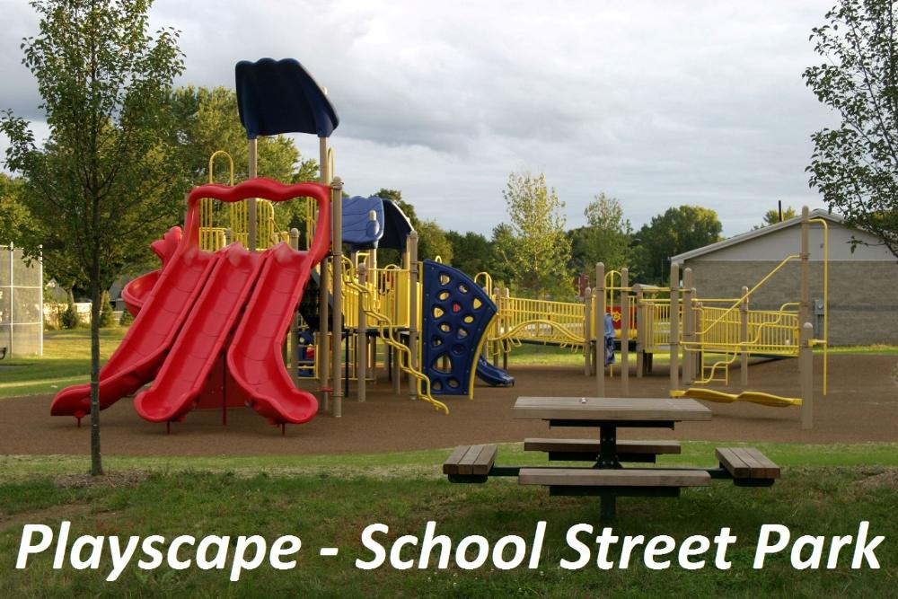 Playscape at School Street Park