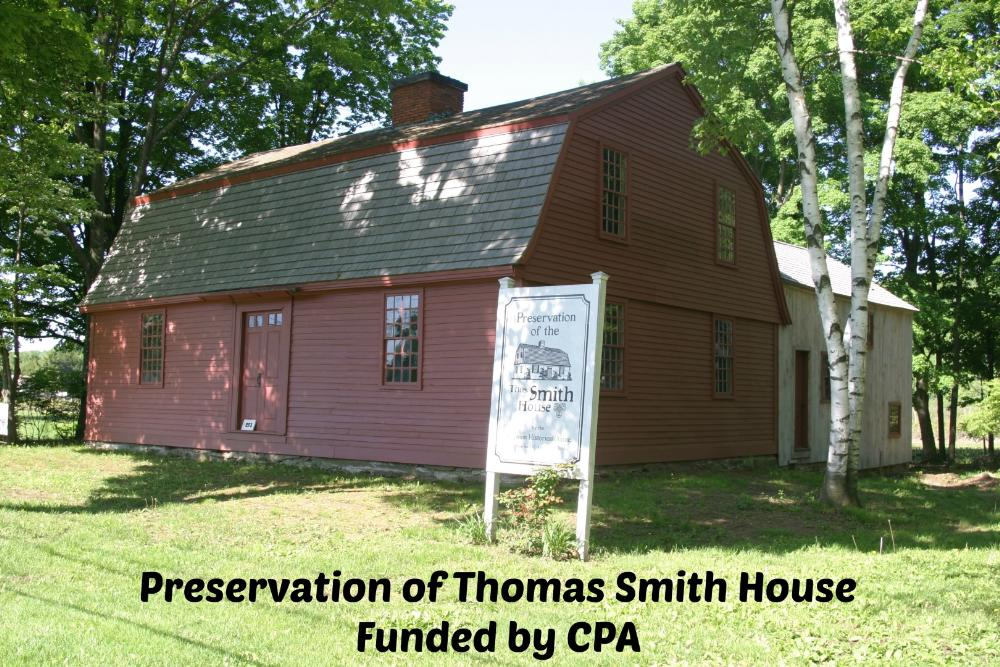 Preservation of Thomas Smith House