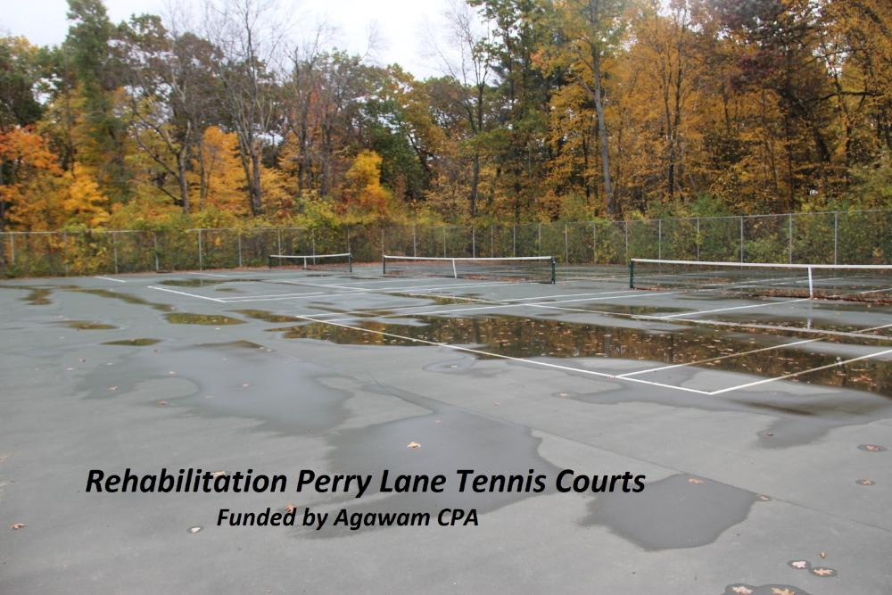 Rehabilitation Perry Lane Tennis Courts