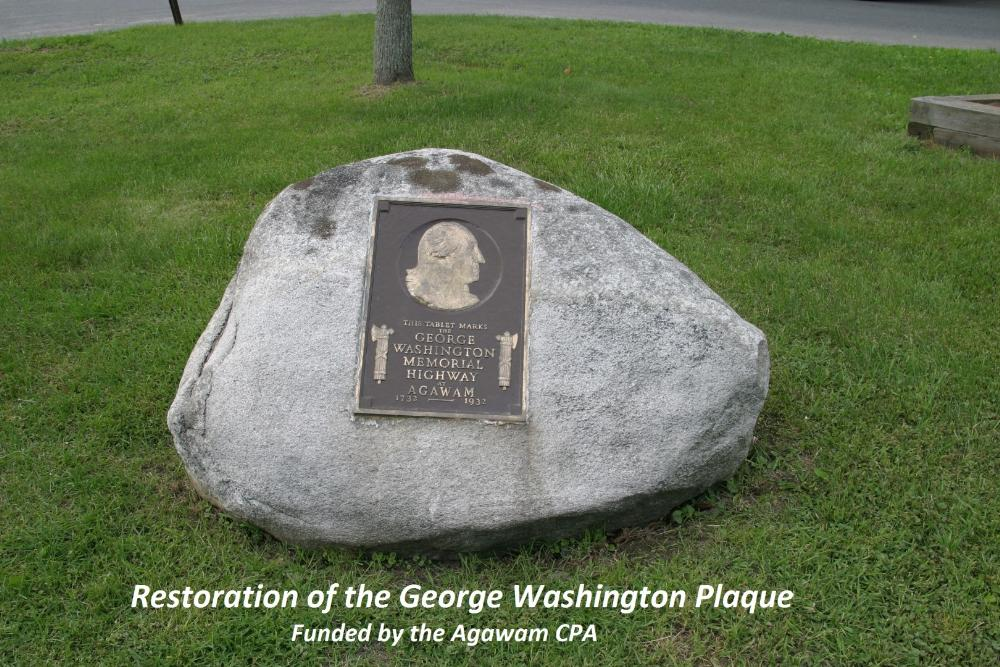 Restoration of the George Washington Plaque