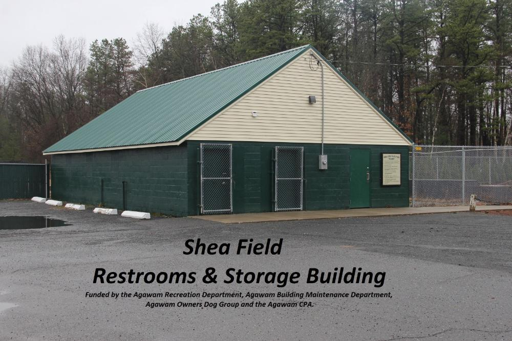Shea Field Restrooms and Storage Building