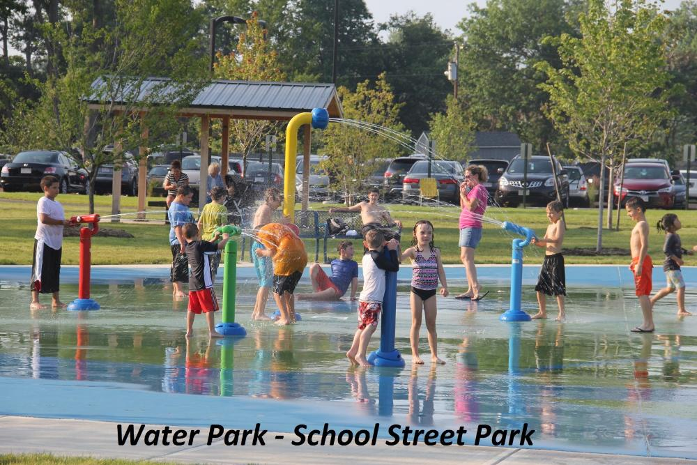 Water Park at School Street Park