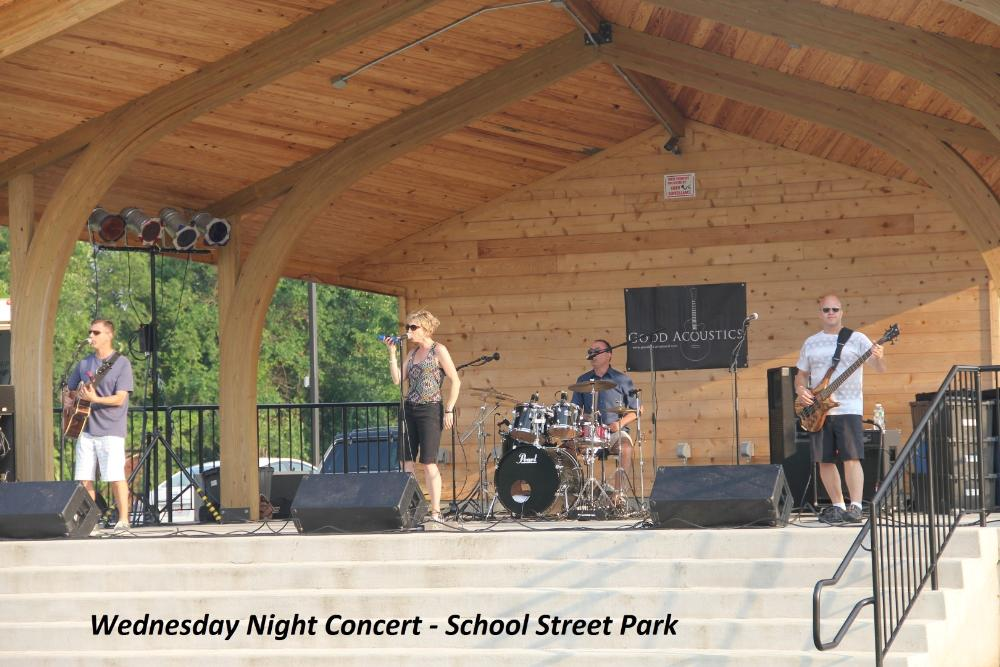 Wednesday Night Concert at School Street Park