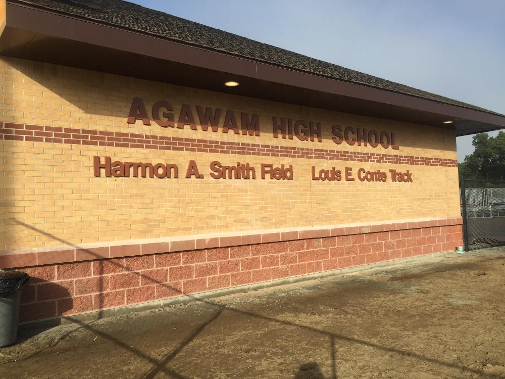 Agawam High School Harmon A. Smith Field and Louis E. Conte Track