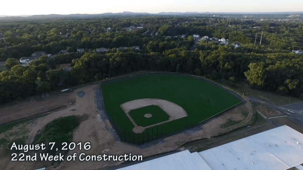 August 7, 2016 22nd Week of Construction