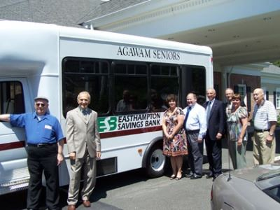 Senior Center New Mini Bus